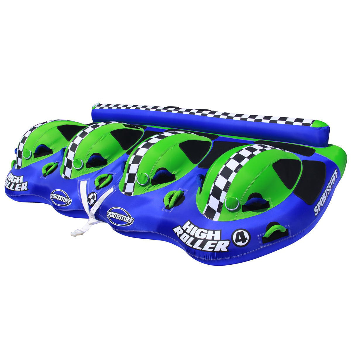 Click here to buy Sportsstuff 53-3040 High Roller 4 Inflatable Towable, 2-4 Rider by Kwik Tek.