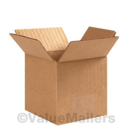 100 Boxes 50 each 4x4x4, 6x4x4 Shipping Packing Mailing Moving Corrugated - 4x4x4 Boxes