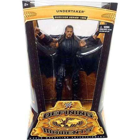 WWE Wrestling Defining Moments Series 4 Undertaker Action - Undertaker Toys