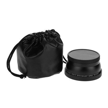 TOPINCN 55mm 0.45X grand angle universel super macro macro pour accessoire d'appareil photo, objectif d'appareil photo, objectif grand angle - image 7 de 7