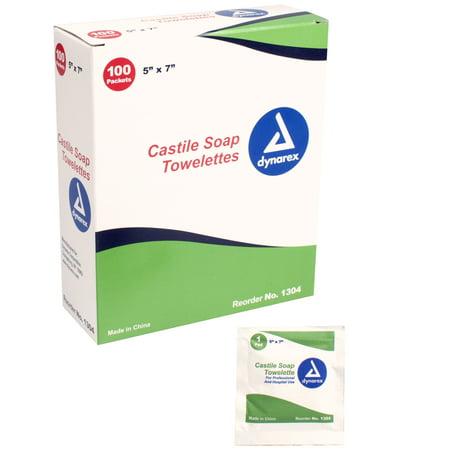 Castile Soap Towelettes - 5