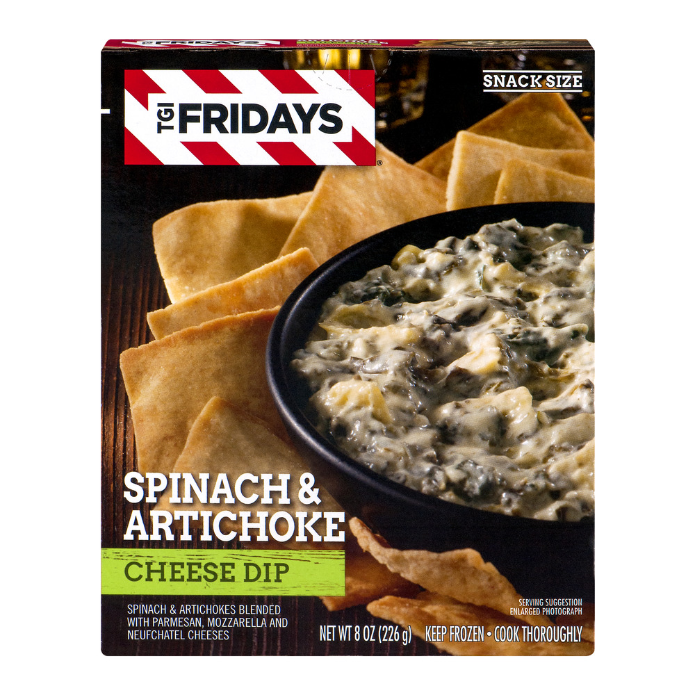 TGI Fridays Spinach & Artichoke Cheese Dip, 8.0 OZ