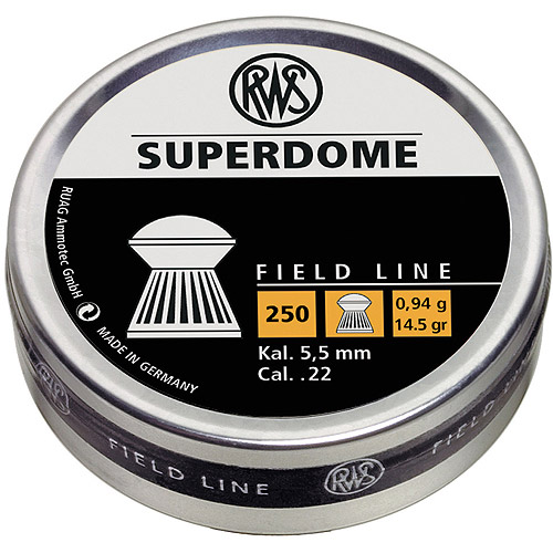 RWS Field Line Superdome .22 Pellets, 250 Count
