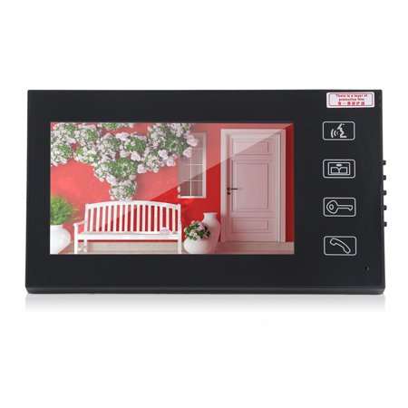 7Inch Color Touch Lcd Rfid Wireless Video Home Door Phone Doorbell Intercom System Camera Remote Access Control System