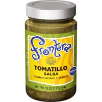 FRONTERA Gourmet Mexican Tomatillo Salsa, Medium, 16 oz.