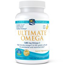Vitamins & Supplements: Nordic Naturals Ultimate Omega in Fish Gelatin