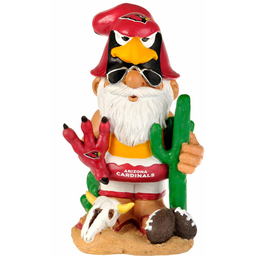 Forever Collectibles NFL Thematic Gnome Version 2, Arizona Cardinals