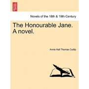 The Honourable Jane. a Novel.