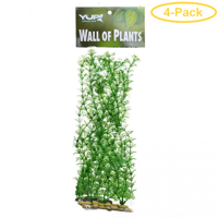 Yup Aquarium Decor Wall of Plants - Microphilia 1 Pack (5L x 2W x 14H) - Pack of 4