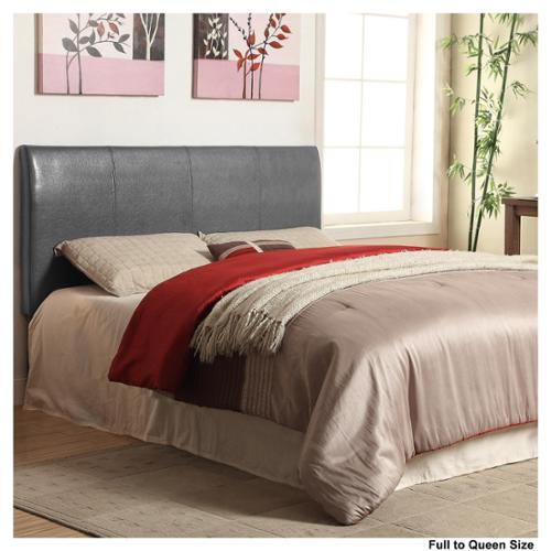 Furniture of America Leatherette Conversion Headboard Pink- Twin