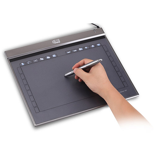 "Adesso 10"" x 6"" CyberTablet Z12 Widescreen Ultra-Slim Graphics Tablet"