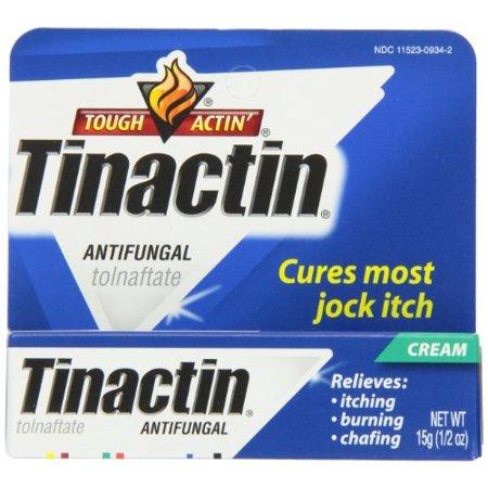 (3 Pack - Tinactin Antifungal Jock Itch Cream, Cures Most Jock Itch .5oz Each)
