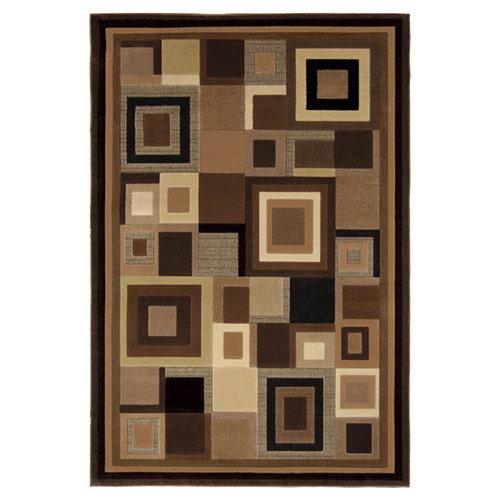 Home Dynamix Catalina Black & Brown Area Rug