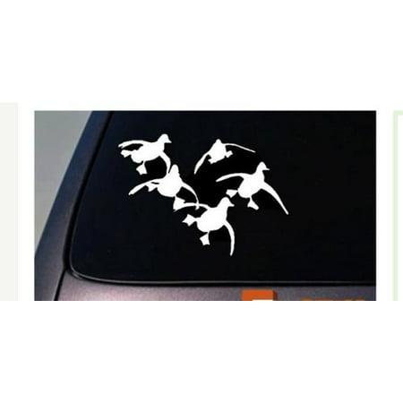 Flying Ducks Vinyl Car Truck WIndow Decal Dynasty Quack Hunting MALLARD *A50* ()