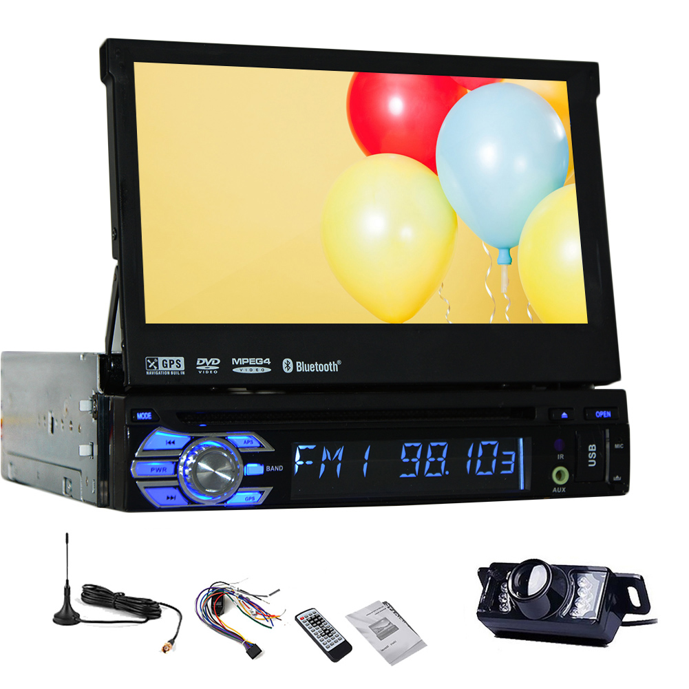 CD DVD Player Auto radio In Dash single 1 din Receiver Sy...