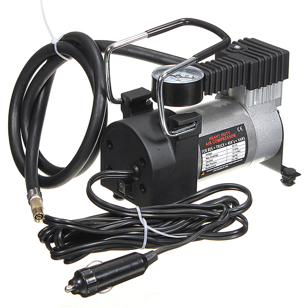 Heavy Duty Portable 12V 144W 100PSI Car Tyre Auto Tire Inflator Pump Air Compressor Barometer Universal... by
