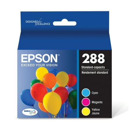 Epson 288 DURABrite Ultra Original Ink Cartridge - Cyan, Magenta, Yellow