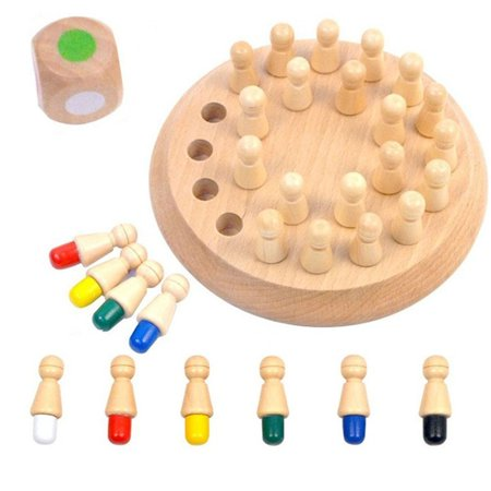Wooden Stick Chess Memory Match Game,Development Brain Puzzle Toys Disentanglement Game Educational 3D Puzzle Learning Toy Gift - Printable Halloween Memory Games