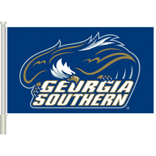 NCAA - Georgia Southern Eagles 11x18 Double Sided Car Flag - Set of 2