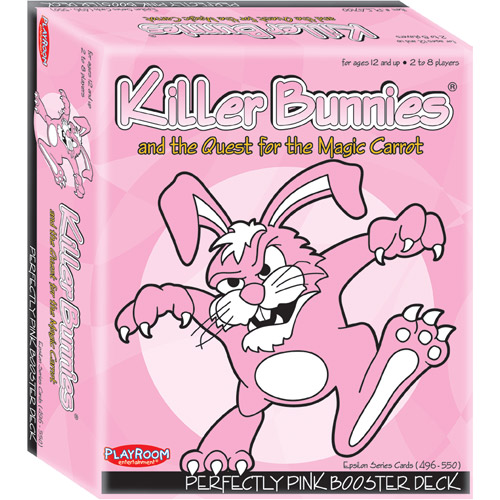 Playroom Entertainment Killer Bunnies and the Quest for the Magic Carrot Perfectly Pink Booster Deck (9)