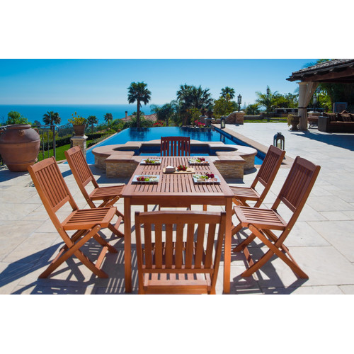 Darby Home Co Ehlert 7 Piece Dining Set
