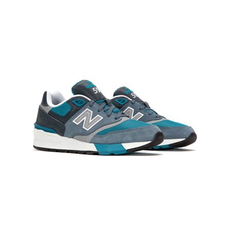 designer fashion 808c8 2eb95 new balance men's 597 running shoes ml597aad grey/blue