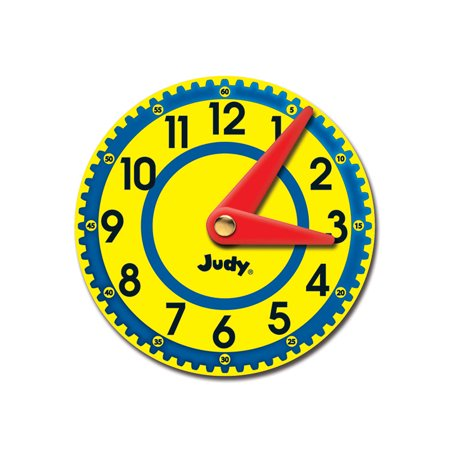 JUDY CLOCKS COLORFUL CUT OUTS GR K-2 - Spider Cut Outs