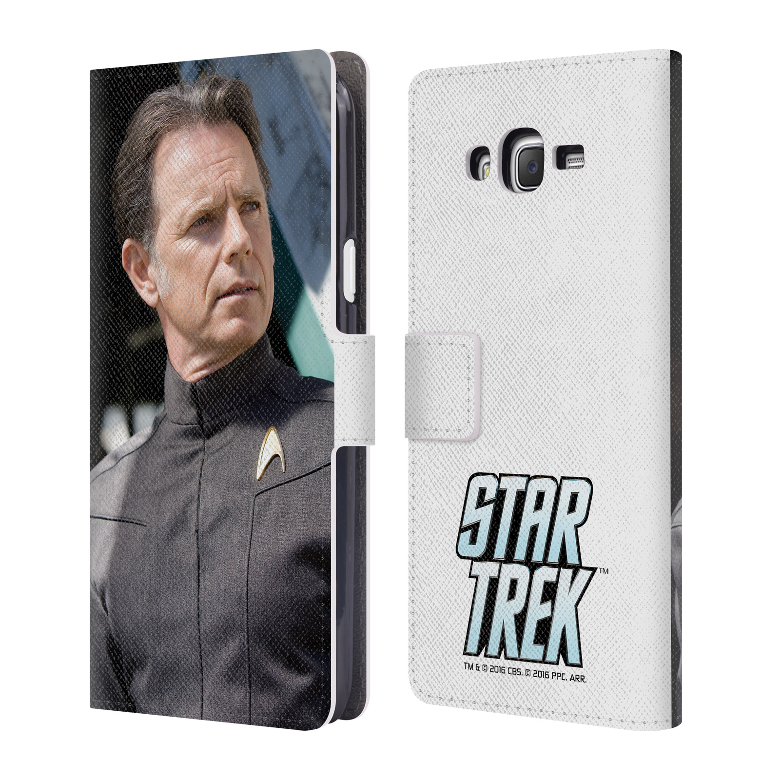 OFFICIAL STAR TREK MOVIE STILLS REBOOT XI LEATHER BOOK WALLET CASE COVER FOR SAMSUNG PHONES 3
