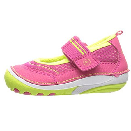 Stride Rite Soft Motion GWYN Mary Jane Shoe (Infant/Toddler) Pink 4.5 W