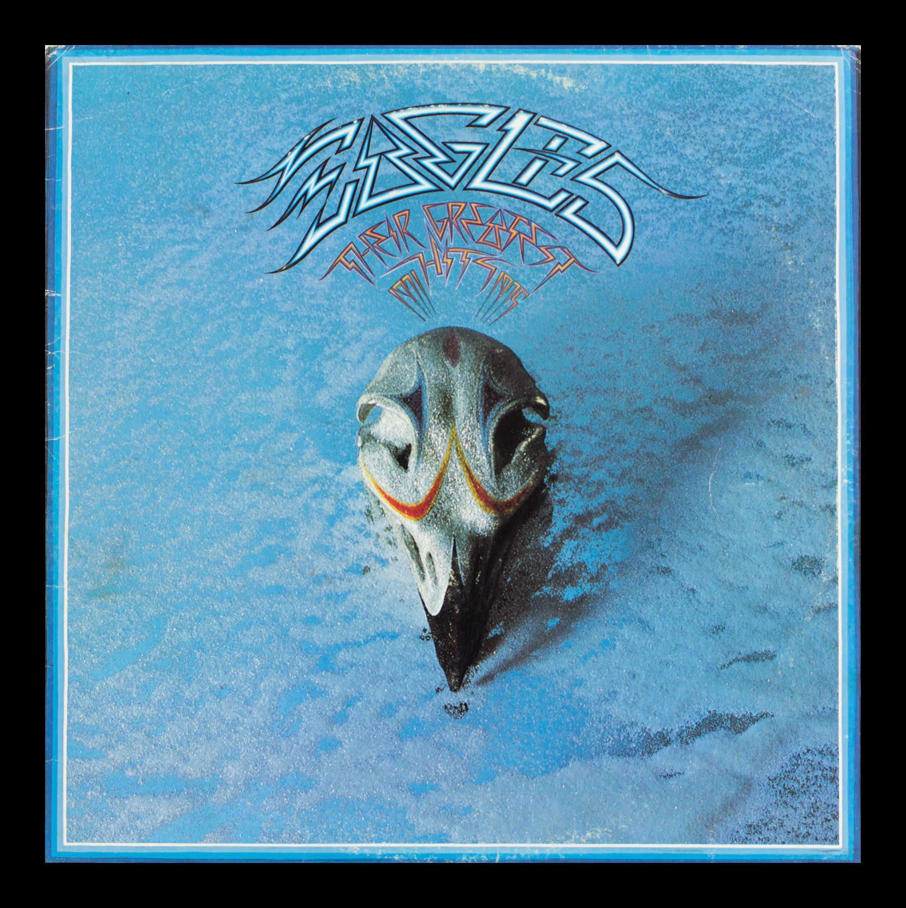 The Eagles  Greatest Hits Vintage Album in Frame