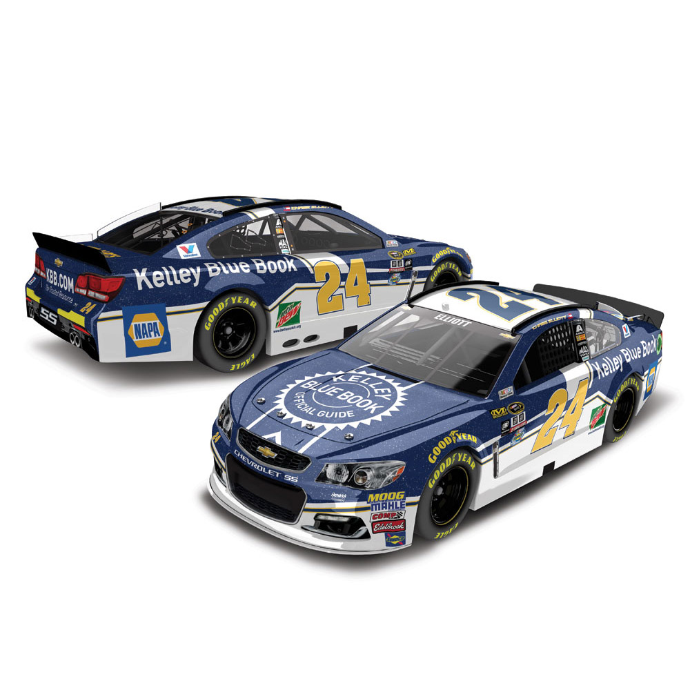 Chase Elliott Action Racing 2016 #24 Kelley Blue Book 1:24 Nascar Sprint Cup Series Galaxy... by Lionel LLC