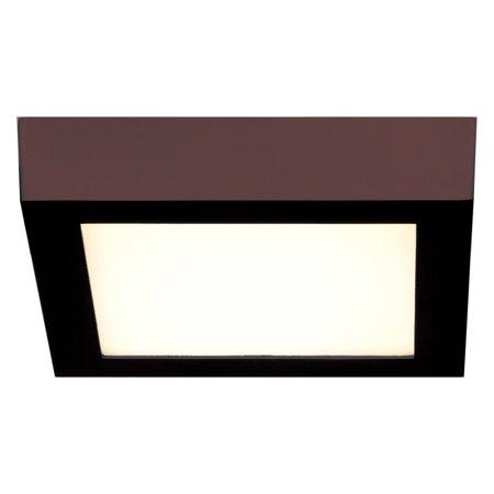 Access Lighting Strike Dimmable Square Flush Mount Light ()