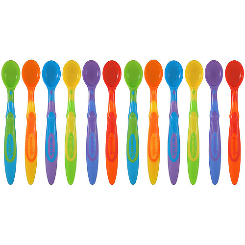 Munchkin Soft-Tip Infant Spoons, 12-Pack, BPA-Free