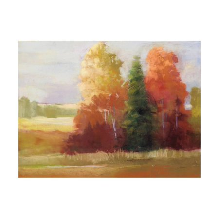 Autumn Leaves Crop Print Wall Art By Carol Rowan](Roman Leaves)