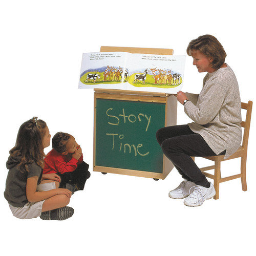 Steffy Wood Products Casters Board Easel
