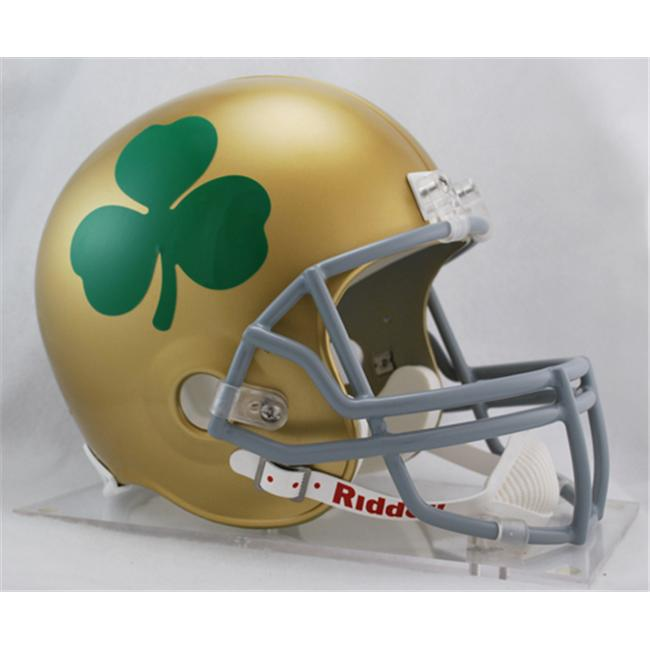 Victory Collectibles 3001829 Rfr C Notre Dame Shamrock Fighting Irish Full Size Replica Helmet by Riddell