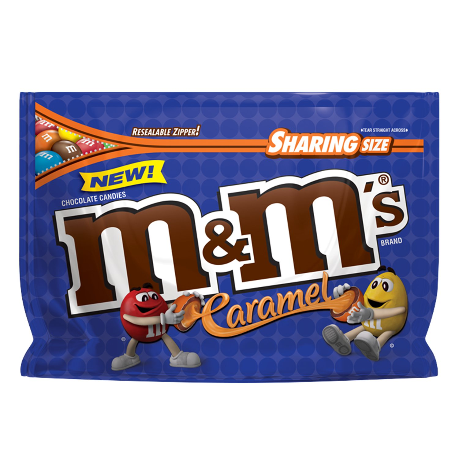 M&M's Caramel Chocolate Candy, Sharing Size, 9.6 Oz