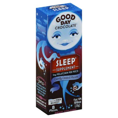 Good Day Chocolate Good Day Chocolate  Sleep Supplement, 8