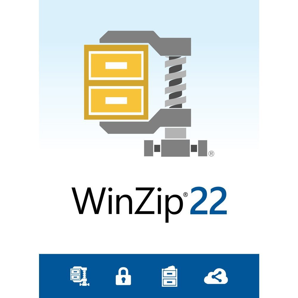 WinZip v.22.0 Standard Box Pack 1 User Compression DVD-ROM Multilingual PC