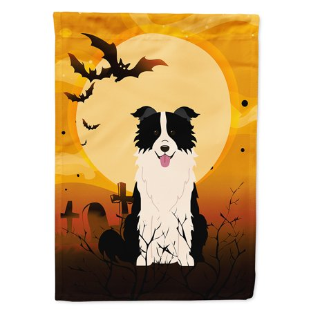 Halloween Border Clipart Black And White (Halloween Border Collie Black White Garden)