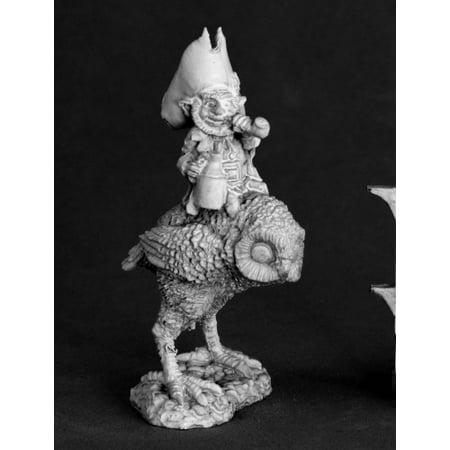 Leprechaun and Owl Miniature 25mm Heroic Scale Dark Heaven Legends Reaper - Miniature Owl