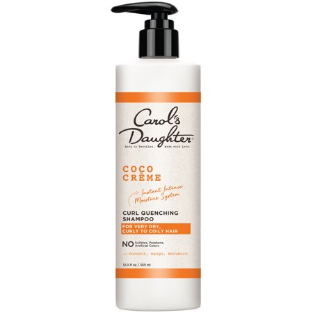Carol's Daughter Coco Creme Sulfate free Shampoo, with Coconut Oil, for Curly Hair, 12 fl