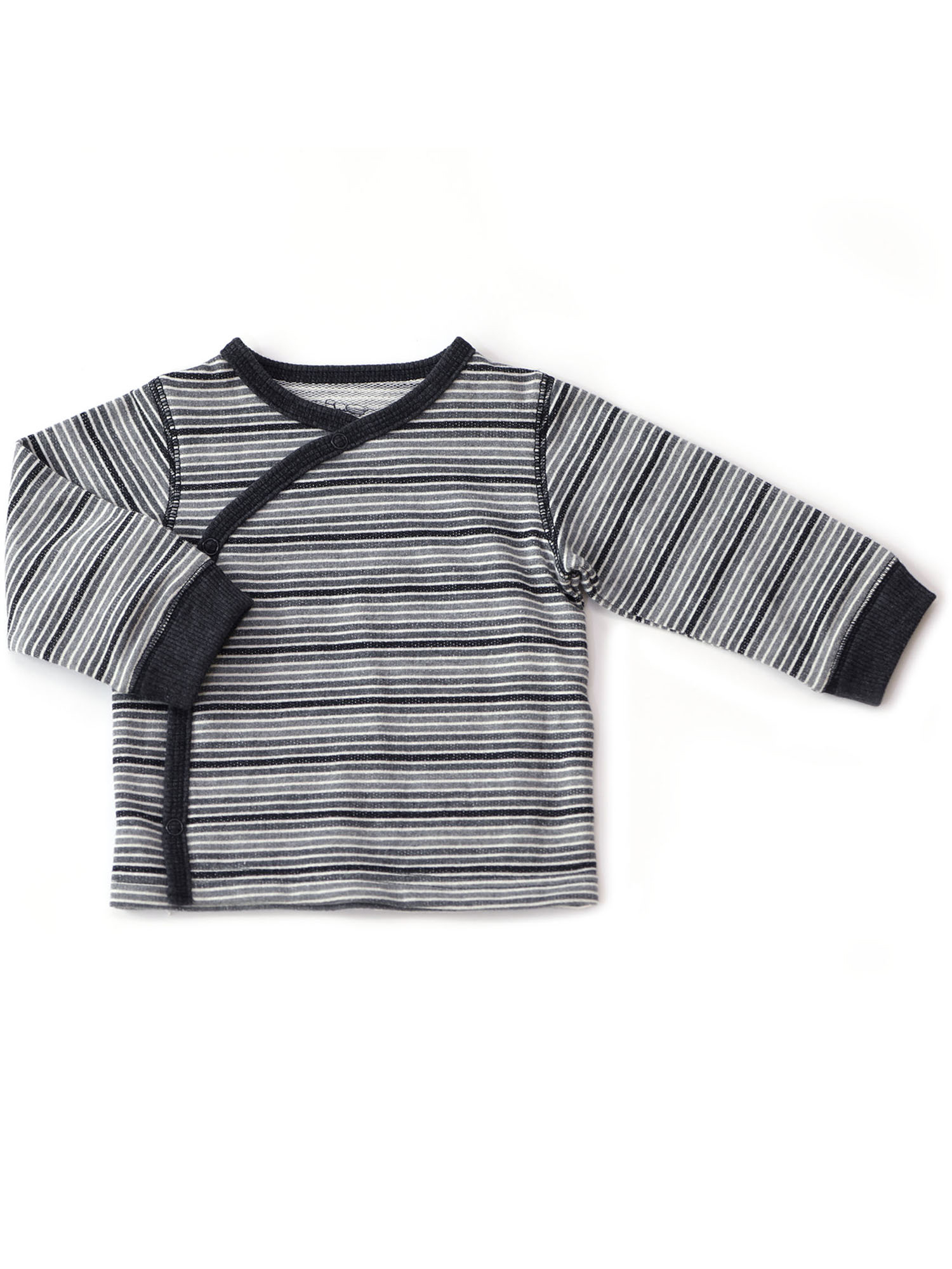 Kapital K Long Sleeve Kimono Wrap Cardigan Top (Baby Boys)