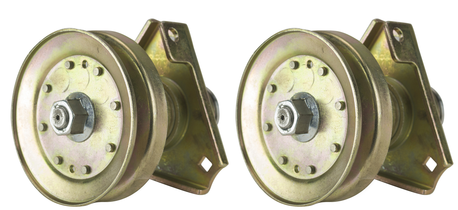 Two (2) Pack Erie Tools Lawn Mower Spindle Assembly Fits John Deere AM126226 LT 160, LT 166, LT 180, Sabre Lawn Tractor by Erie Tools