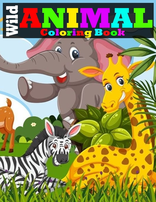 Wild Animal Coloring Book : Tiger, Lion, Elephant, Owl, Horse, Dog, Cat,  And Many More Stress Relieving Wild Animals Coloring Book For Adult  (Paperback) - Walmart.com - Walmart.com