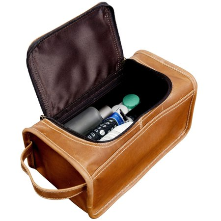 - Canyon Outback  Leather Taylor Falls Leather Toiletry Bag