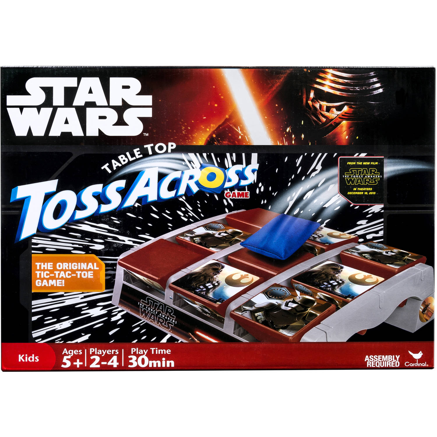 Star Wars Table Top Toss Across Game