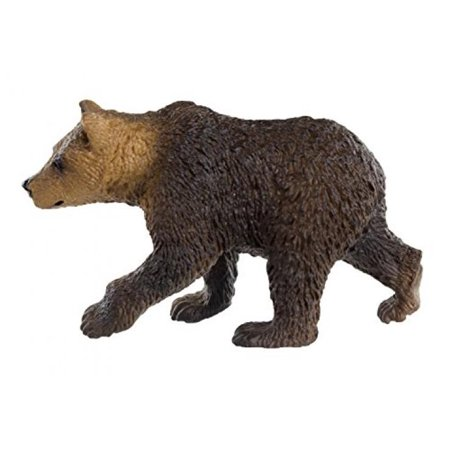- Safari Ltd Wild Safari North American Wildlife - Grizzly Bear Cub - Educational Hand Painted Figurine - Quality Construction from Safe and BPA Free Materials - For Ages 3 and Up