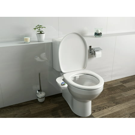 Superb Bio Bidet Slimglow Simple Bidet Toilet Attachment In White Caraccident5 Cool Chair Designs And Ideas Caraccident5Info