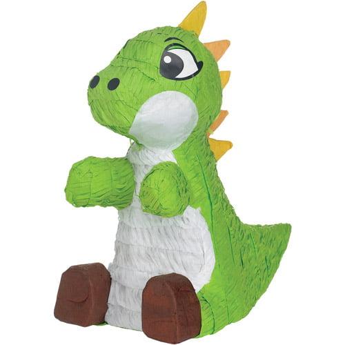 Green Baby Dino Pinata